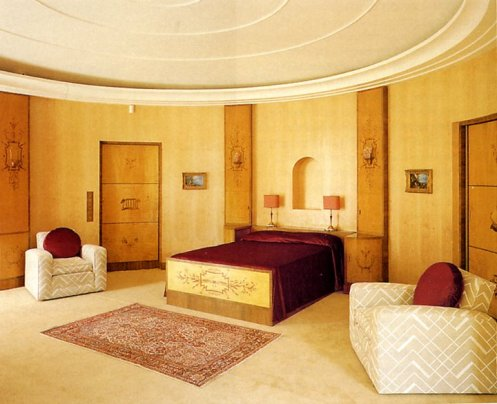 Neutral Colors For Art Deco Design Bedrooms